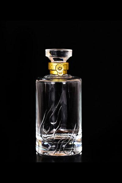 晶白酒瓶-009
