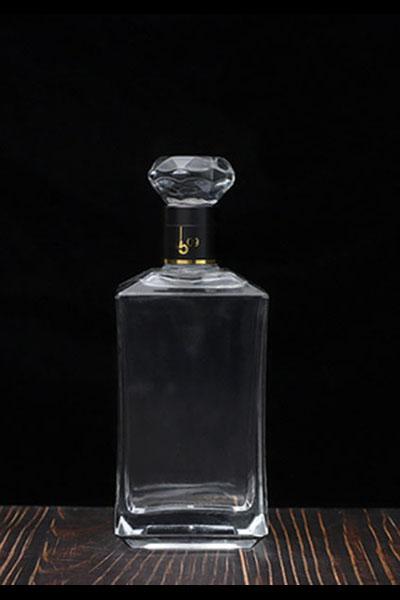 晶白酒瓶-012