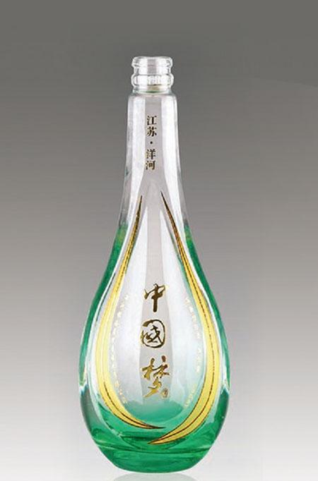 晶白酒瓶-029