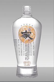 晶白酒瓶-042